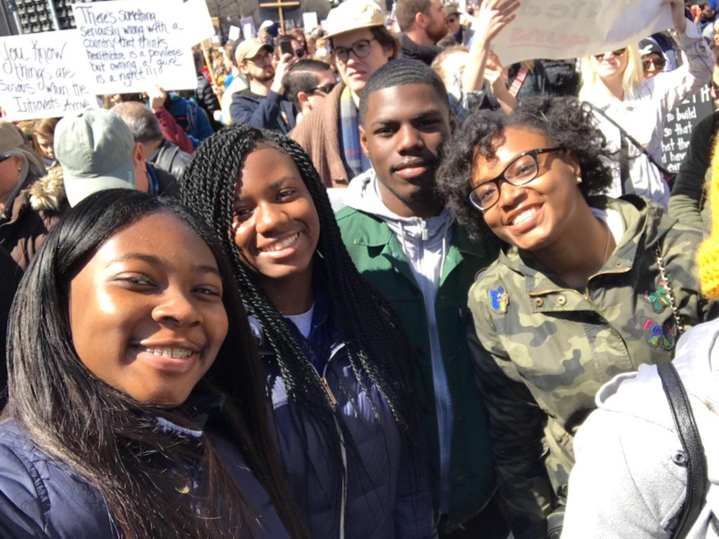 KIPP Student Reflections from the March for Our Lives Rally